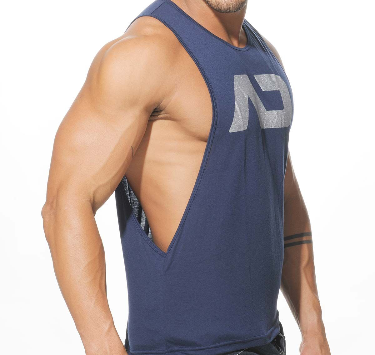 Addicted Tank Top AD LOW RIDER AD043, navy