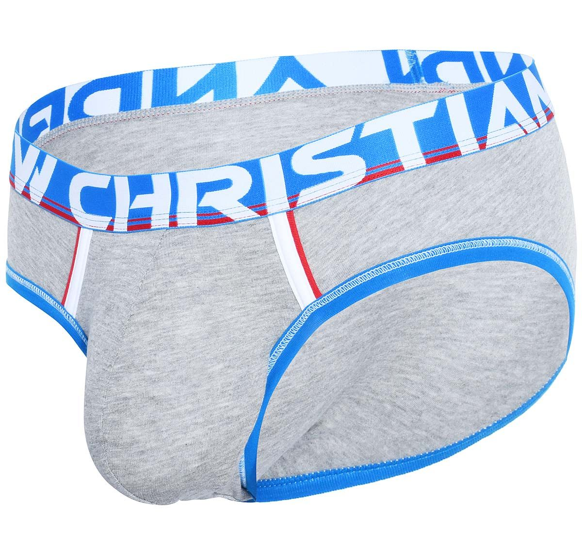 Andrew Christian Slip COOLFLEX MODAL ACTIVE BRIEF W/ SHOW-IT 91499, gris
