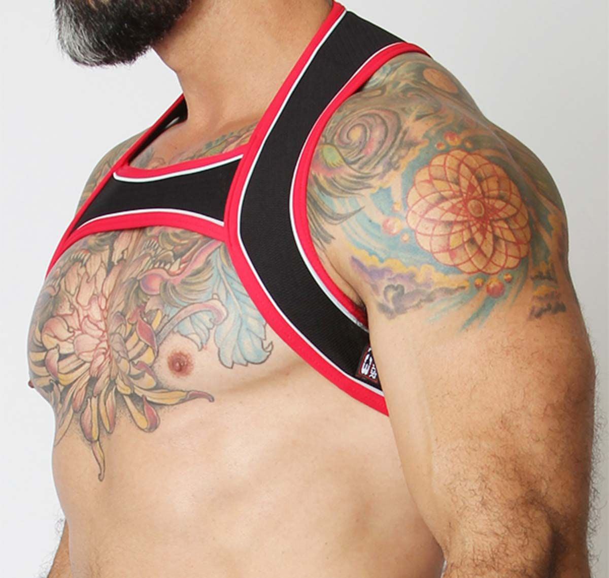 Cellblock 13 Harness SENTINEL HARNESS, red