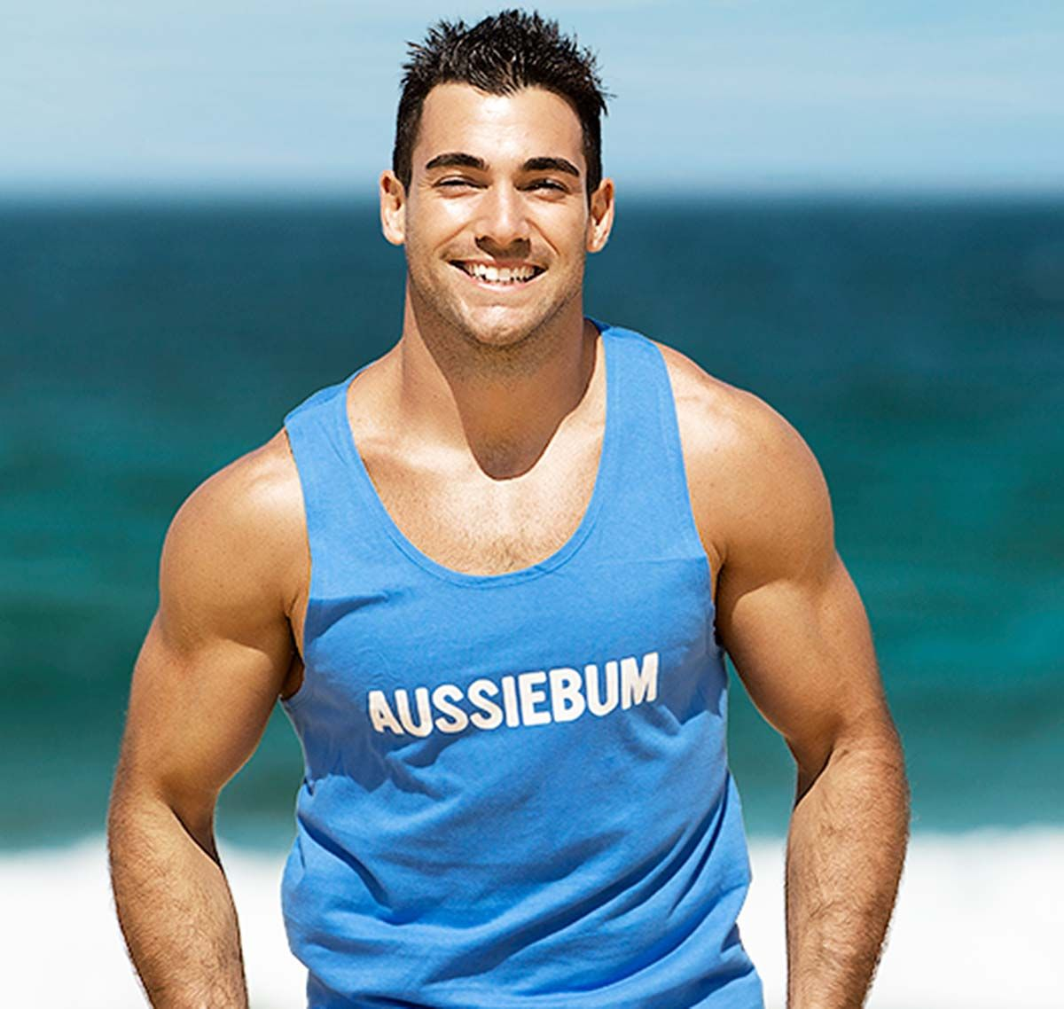 aussieBum Tank Top ORIGINAL WORKOUT, blau