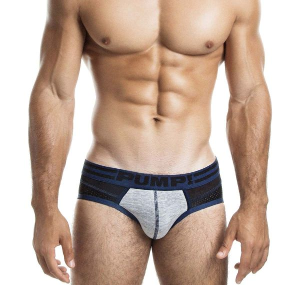 Pump! Herrenslip SHADOW BRIEF 12039, schwarz