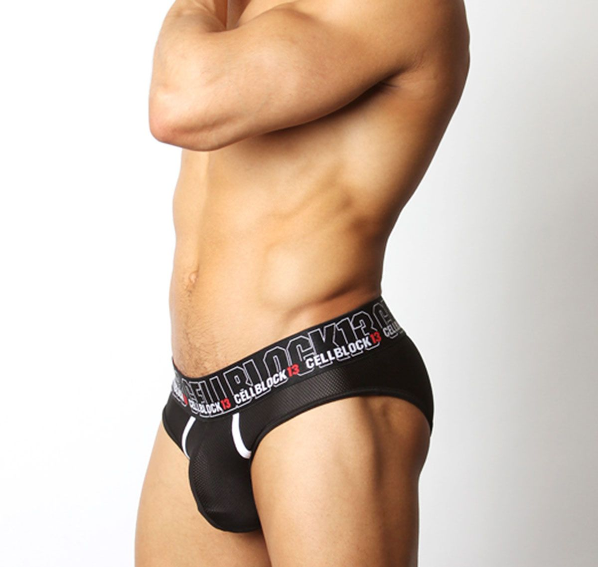 Cellblock 13 Slip BACK ALLEY BRIEF, negro