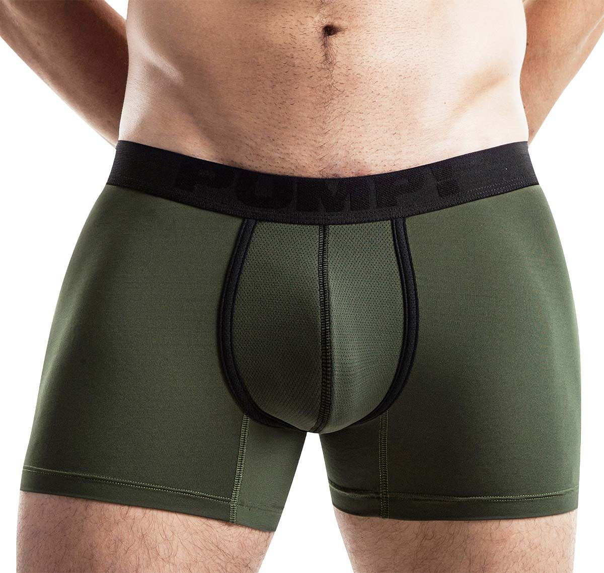 Pump! Boxershorts lang COOLDOWN BOXER 11067, army