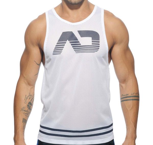 Addicted MESH AD TANK TOP AD482, weiß