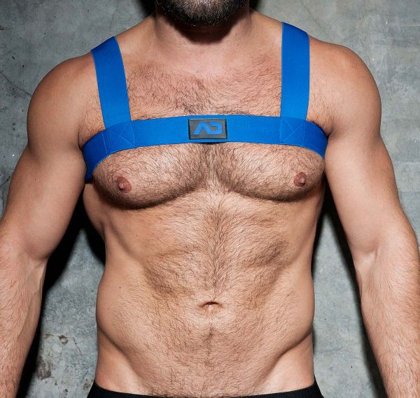 AD FETISH Harness BASIC ELASTIC HARNESS ADF104, royalblau