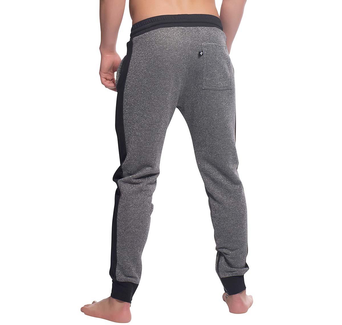 Andrew Christian pantalon de sport LIGHTNING SPARKLE TRAINING PANTS 4137, gris