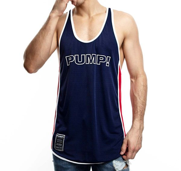 PUMP! Tank Top ACADEMY DEEP TANK 14016, navy