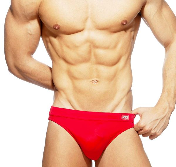 Addicted Swim Brief DICK UP SWIM BRIEF ADS237, red