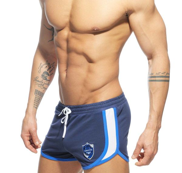 Addicted kurze Sporthose SHIELD DETAIL SHORT AD557, navy