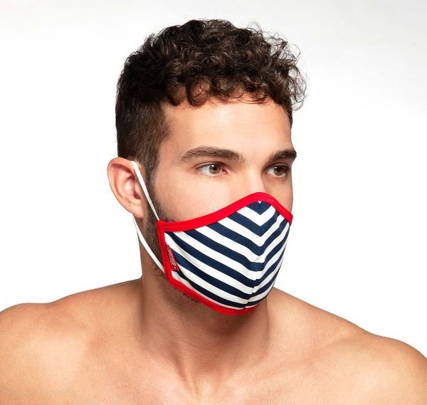 ES Collection Face mask SAILOR MASK AC103, red