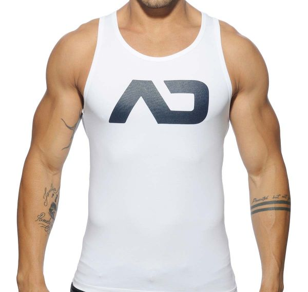 Addicted Sportshirt BASIC AD TANK TOP AD457, weiß