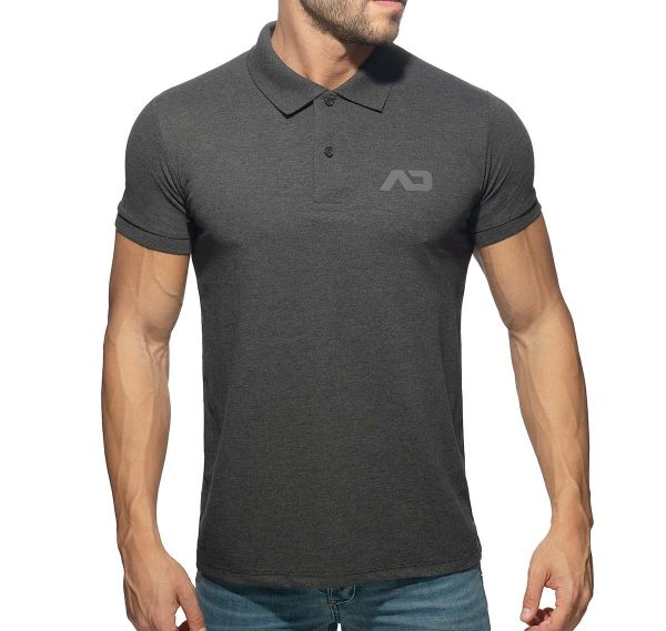 Addicted Poloshirt AD CLASSIC POLO SHIRT AD949, charcoal