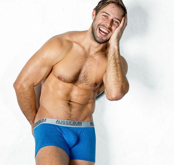 aussieBum Boxershorts COTTONTOUCH MARLE, blau
