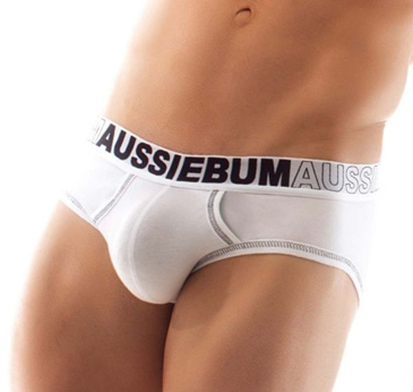 aussieBum Herrenslip EnlargeIT, weiß