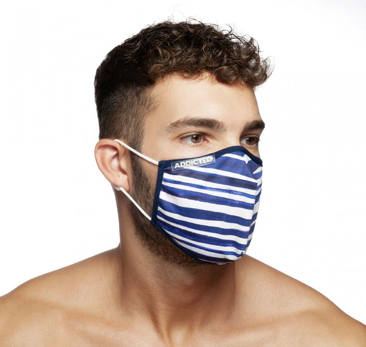 ADDICTED Face mask SAILOR MASK AC114, navy