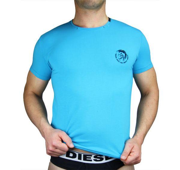 Diesel T-Shirt Sportshirt Herren blau