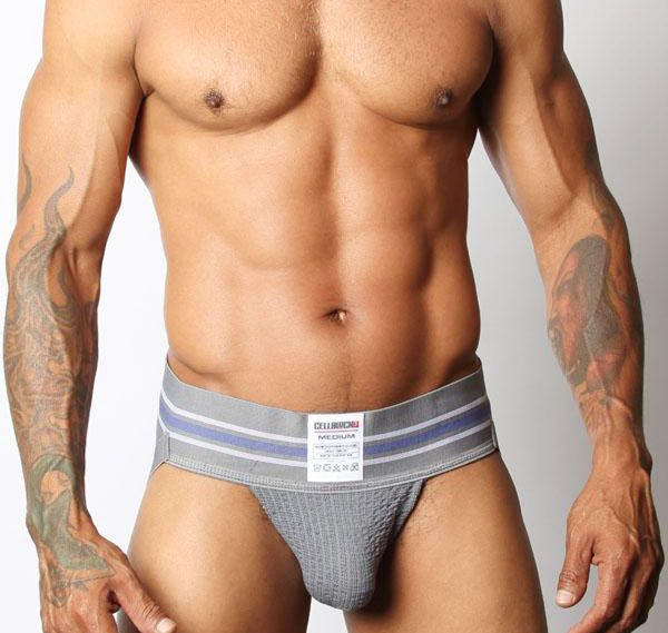 Cellblock 13 Jockstrap TIGHT END JOCKSTRAP, grau