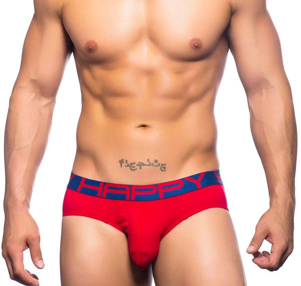 Andrew Christian Slip HAPPY BRIEF 90348, rot