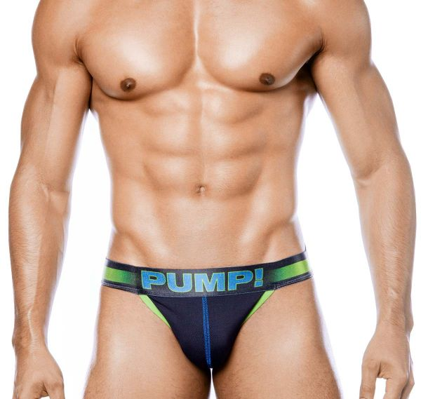 PUMP! Herrenslip PLAY SIDECUT BRIEF 12054, grün