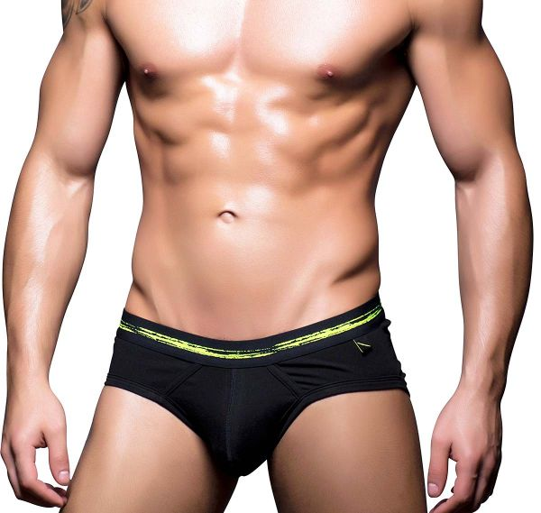 Andrew Christian Slip BASIX TAGLESS BRIEF 90130, schwarz