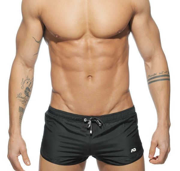 Addicted Badeshorts BASIC MINI SWIM SHORT ADS111, schwarz